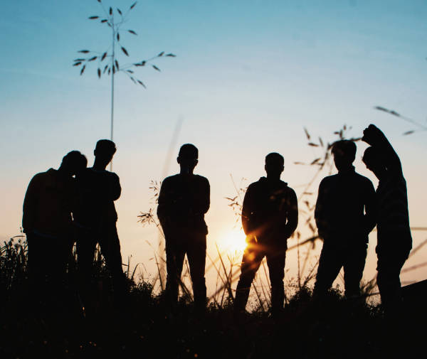 youth-group-backlit